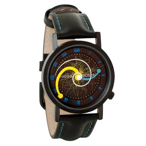 Higgs Boson Hadron Collider Gift Watch