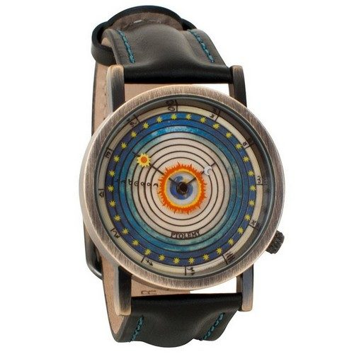 Ptolemaic Universe Model Astronomy Gift Watch