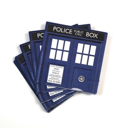 Set of 20 Doctor Who Party Napkins