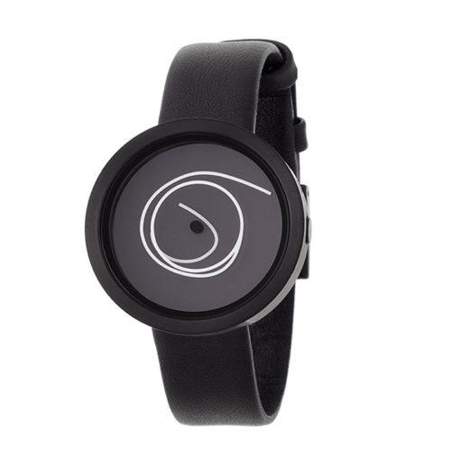 Nava Design Black Ora Unica Wrist Watch