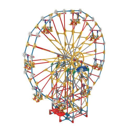 K'NEX Thrill Rides – 3-in-1 Classic Amusement Park Building Set