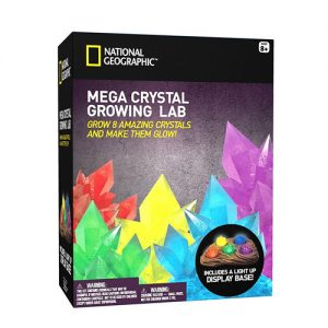 Mega Crystal Growing Lab – 8 Colors to Grow
