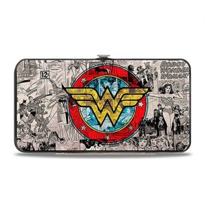 DC Comics Wonder Woman Hinged Card Case Wallet