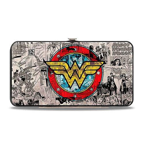 DC Comics Wonder Woman Hinged Card Case Wallet