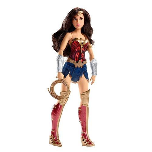 Mattel DC Comics Battle-Ready Wonder Woman Doll