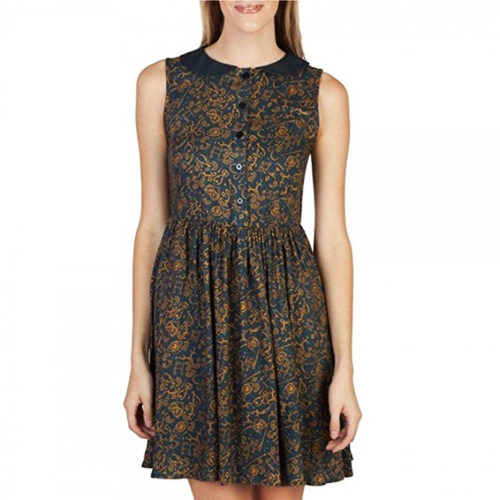 Fantastic Beasts and Where to Find Them All Over Print Dress