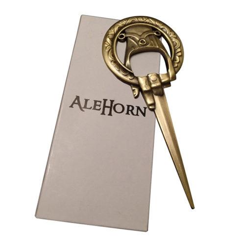 "AleHorn ""Hand of the King"" style Bottle Opener"