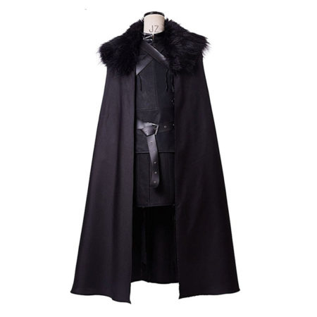 Game of Thrones Night's Watch Jon Snow Cosplay Costume