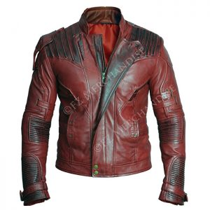 Star Lord Guardians Of Galaxy 2 Chris Pratt Real Leather Jacket