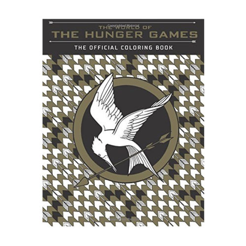 The World of the Hunger Games: The Official Coloring Book