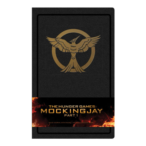 The Hunger Games: Mockingjay Part 1 Hardcover Ruled Journal