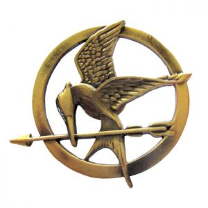 The Hunger Games Prop Replica Mockingjay Pin