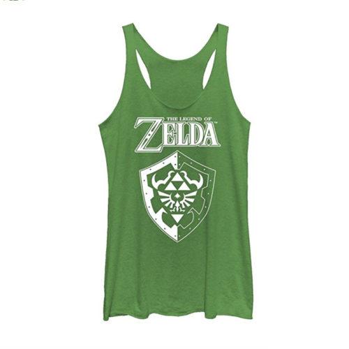 Legend of Zelda Hylian Shield Juniors Tank Top