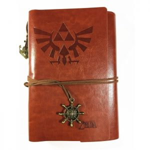 Legend of Zelda Vintage PU Leather Notebook Journal