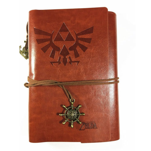 Legend of Zelda Vintage PU Leather Notebook Journal