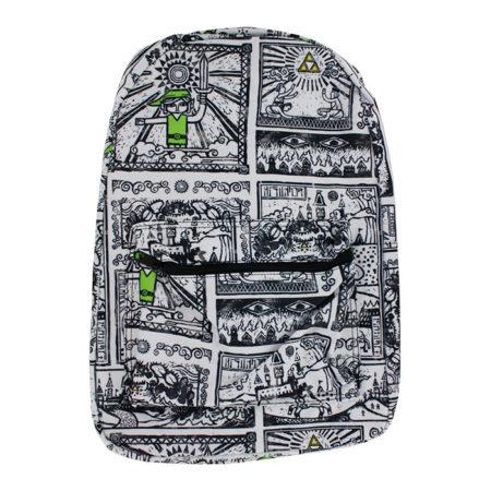 Legend of Zelda Drawings Sublimated Backpack