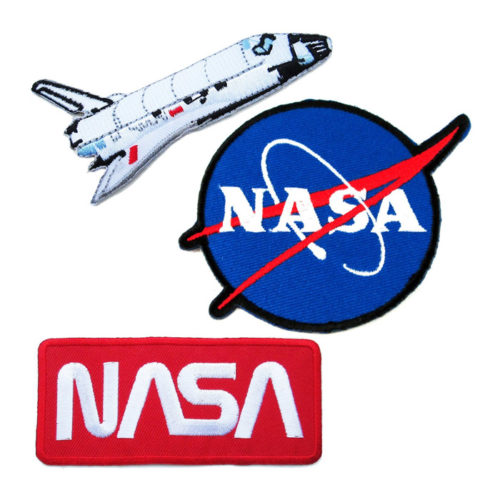 Nasa Iron on Embroidered Patches