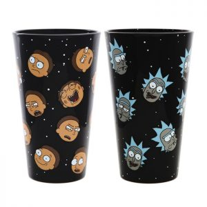 Rick and Morty Exclusive Pint Glass Set