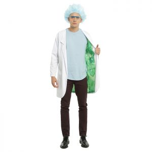 Official Rick and Morty Lab Coat Costume