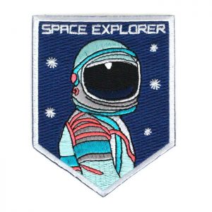 Embroidered Patch: Space Explorer