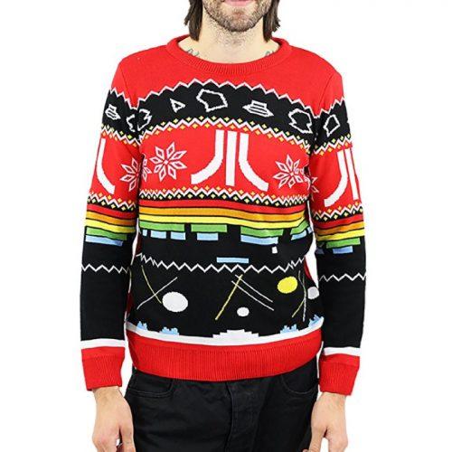 Atari Christmas Jumper / Ugly Sweater Classic Logo