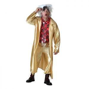 Back to the the Future Doc Brown Costume