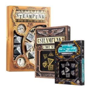 Best Steampunk Dice Sets that will Make Your Game Unique