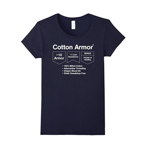 Cotton Armor: Role Playing T-shirt