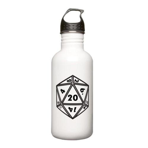 d20 Stainless Steel Water Bottle 1.0L