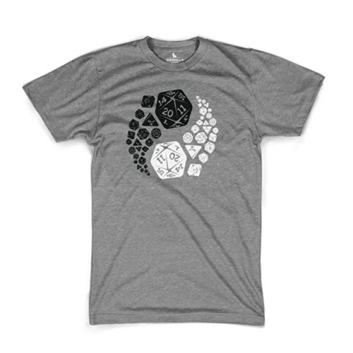 D&D Yin-Yang D20 T-Shirt for Roleplayers