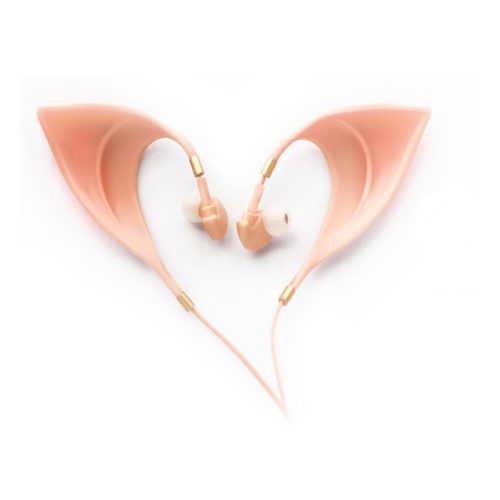 Ultra-Soft Elf Earbuds Ears Headphones