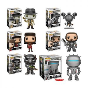 Fallout 4 Set of 6 Funko Pop Action Figures