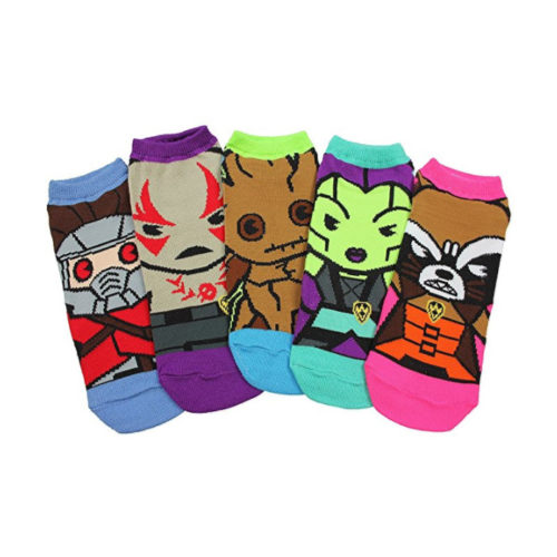 Marvel Guardians of The Galaxy 5 Pack Ankle Socks