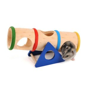 Hamster / Rat Seesaw Tunnel Playground