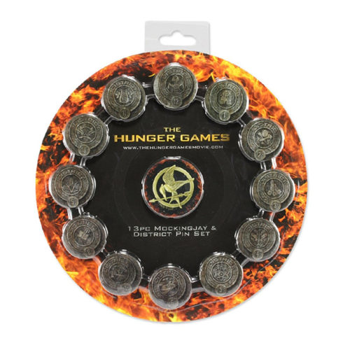 The Hunger Games District Seals Pin Set