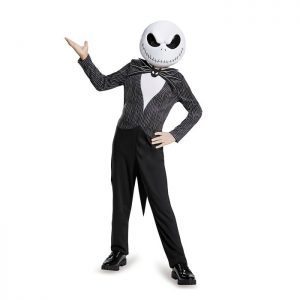 Jack Skellington Nightmare Before Christmas Kids Costume