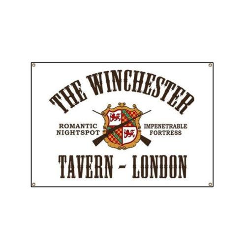 Shaun Of The Dead Winchester Tavern Vinyl Sign