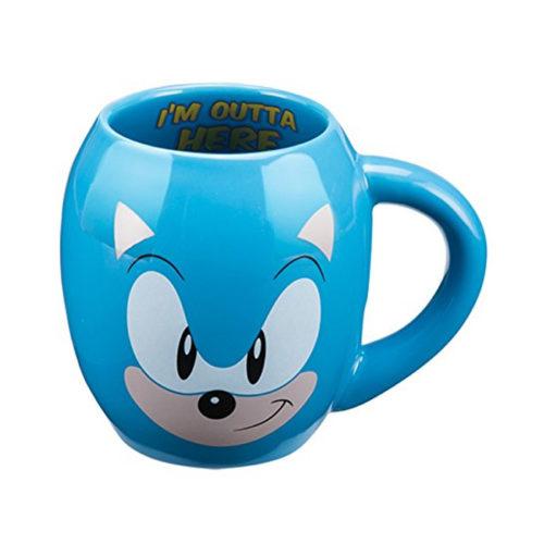 Sonic the Hedgehog 18 Ounce Ceramic Mug