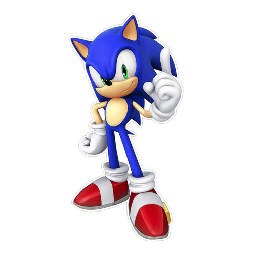 """Sonic the Hedgehog Removable Wall Sticker 15"""""""