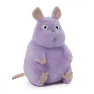 Gund Spirited Away Stuffed Boh Mouse Seated Plush