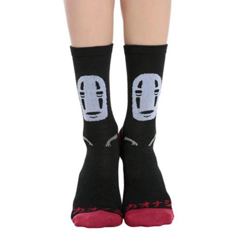 Studio Ghibli Spirited Away No-Face Crew Socks