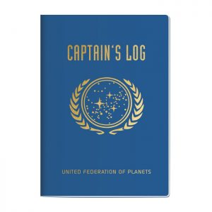 "Star Trek Captain's Log Notebook - 7"" x 4.75"""