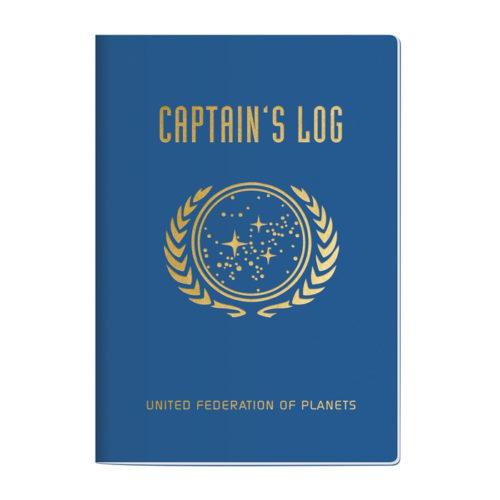 "Star Trek Captain's Log Notebook - 7"" x 4.75"""