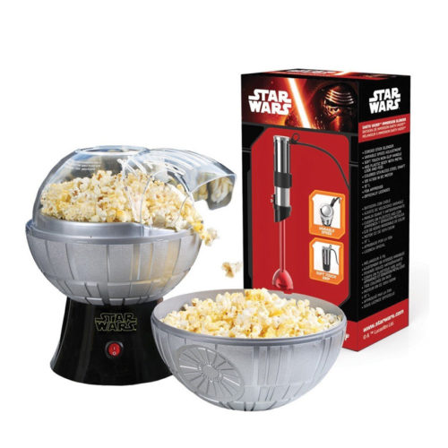 Death Star Popcorn Maker And Darth Vader Stick Blender