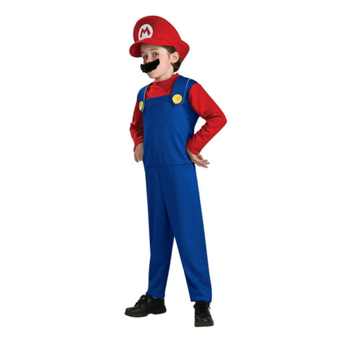 Super Mario Brothers Mario Costume for Boys