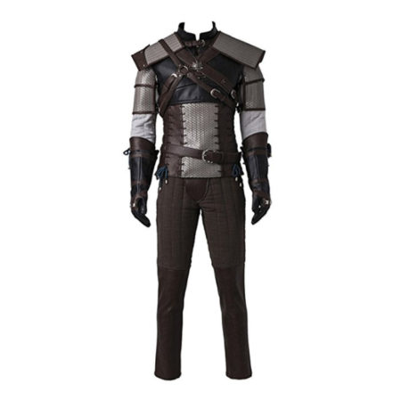 The Witcher 3 Geralt of Rivia Cosplay Costume