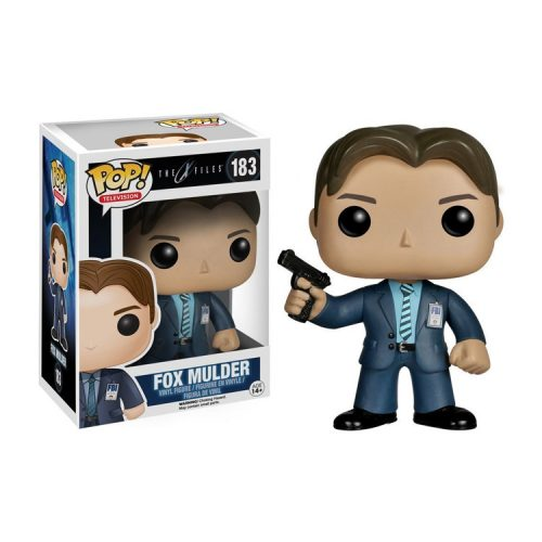 X-Files Fox Mulder Funko Action Figure