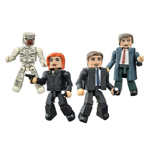 The X-Files: Classic TV Series Minimates Box Set
