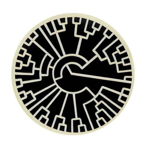 Philogenetic Evolution Tree Lapel Pin by Pinsanity
