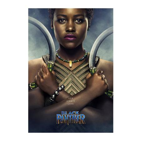Black Panther Nakia 8.5 x 11 Poster